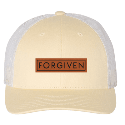 Forgiven (Patch) Trucker Hat