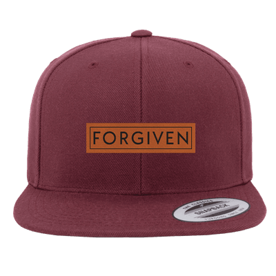 Forgiven Patch Snapback Hat