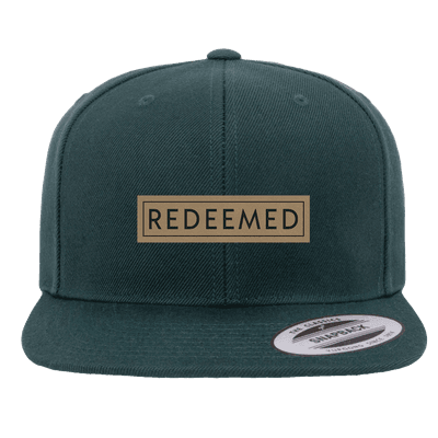 Redeemed Patch Snapback Hat