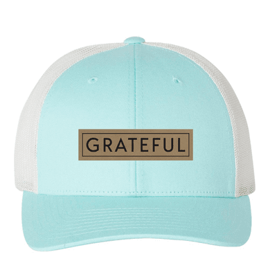 Grateful (Patch) Trucker Hat