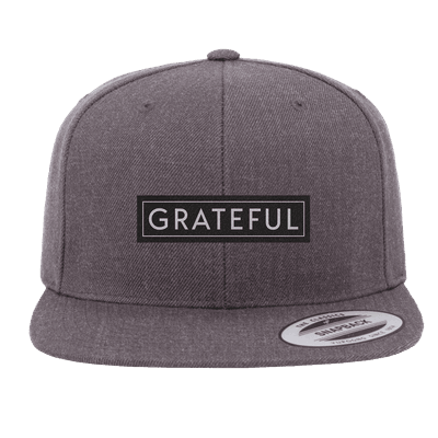 Grateful Patch Snapback Hat