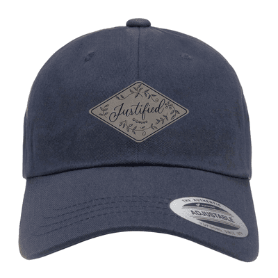 Justified Floral Patch Dad Hat