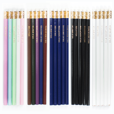 Five Solas Pencil Set