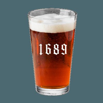 1689 Pint Glass