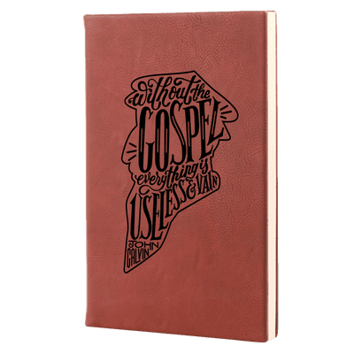 Without the Gospel Leatherette Hardcover Journal
