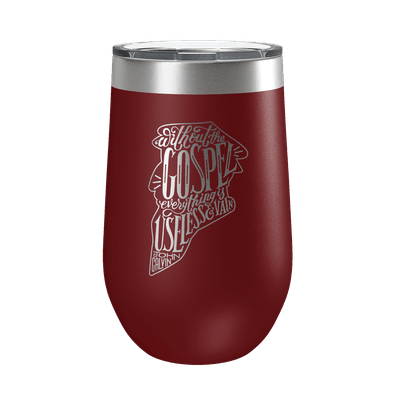 Without the Gospel 16oz Insulated Tumbler
