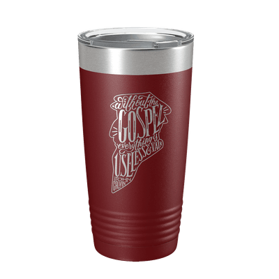 Without the Gospel 20oz Insulated Tumbler