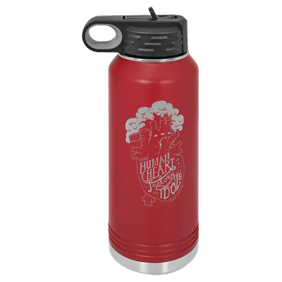 Idol Factory 32oz Insulated Water Bottle