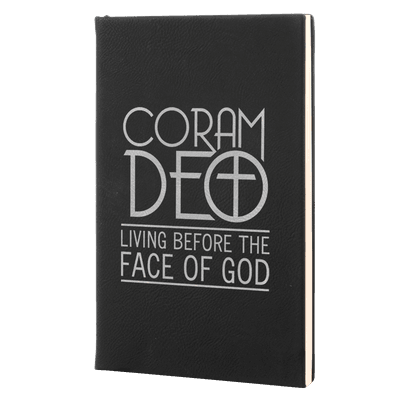 Coram Deo Leatherette Hardcover Journal