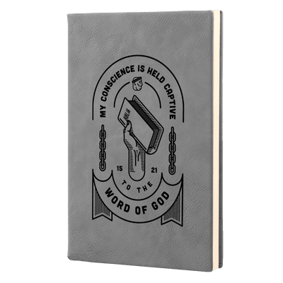 Held Captive to the Word of God Leatherette Hardcover Journal
