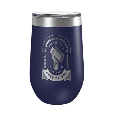 Held Captive to the Word of God 16oz Insulated Tumbler