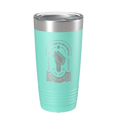 Held Captive to the Word of God 20oz Insulated Tumbler