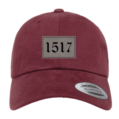 1517 Reformation Patch Dad Hat