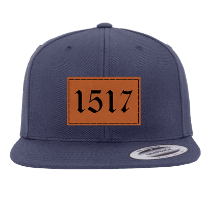 1517 Reformation Patch Snapback Hat