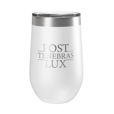 Post Tenebras Lux 16oz Insulated Tumbler