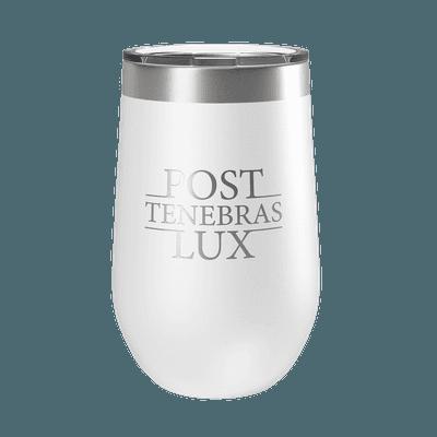 Post Tenebras Lux 16oz Insulated Tumbler