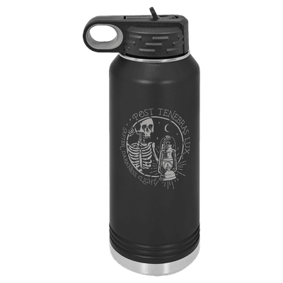 Post Tenebras Lux 32oz Insulated Water Bottle
