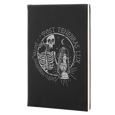 Post Tenebras Lux Leatherette Hardcover Journal