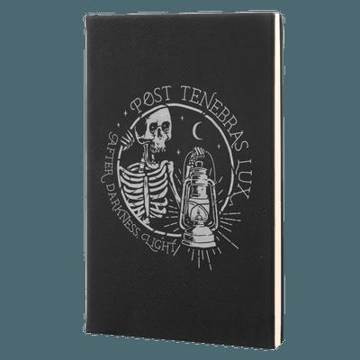 Post Tenebras Lux Leatherette Hardcover Journal