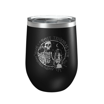 Post Tenebras Lux 2 12oz Insulated Tumbler