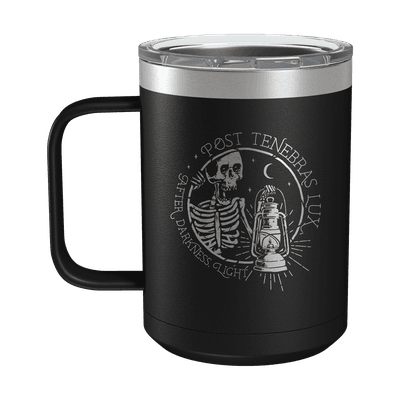 Post Tenebras Lux 15oz Insulated Camp Mug