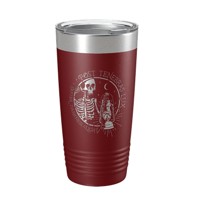 Post Tenebras Lux 2 20oz Insulated Tumbler