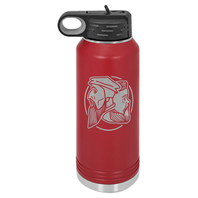 Logo 32oz Insulated Water Bottle