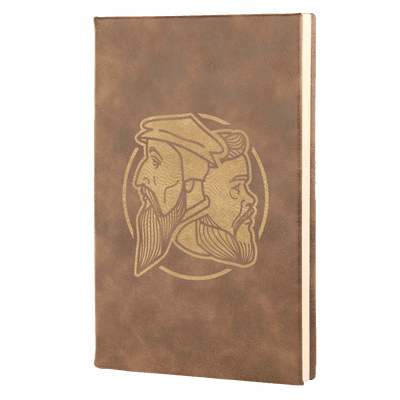 Logo Leatherette Hardcover Journal