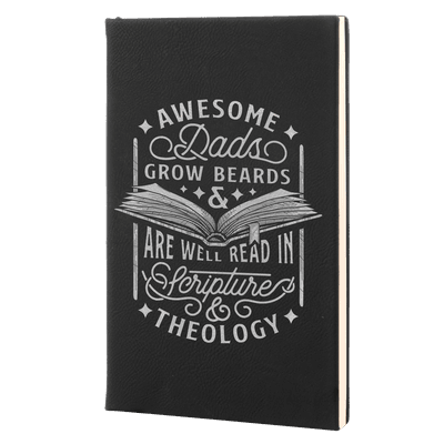 Awesome Dads Leatherette Hardcover Journal