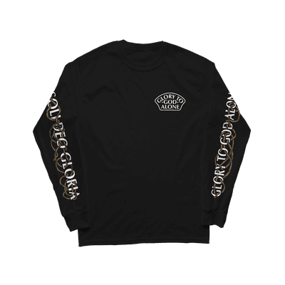 Soli Deo Gloria Burning Bush Long Sleeve Tee