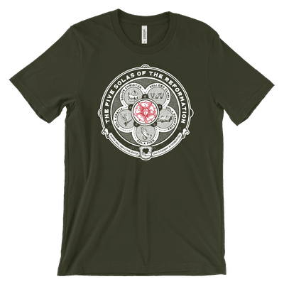 The Five Solas Luther Rose Tee