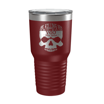 Be Killing Sin (Skull) 30oz Insulated Tumbler