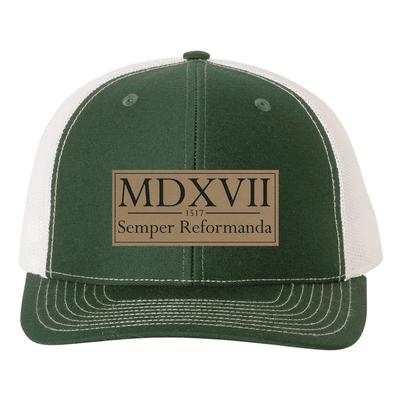Semper Reformanda - 1517 Roman Numerals Trucker Hat
