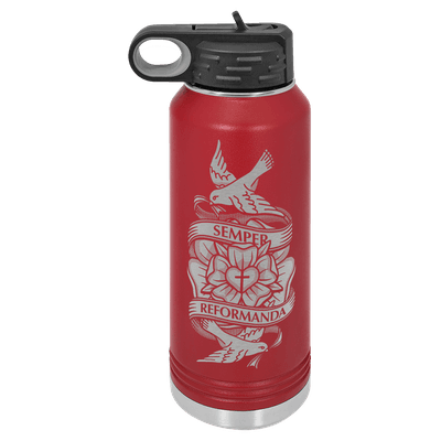 Always Reforming Rose 32oz Insulated Water Bottle