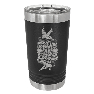 Always Reforming Rose Insulated Pint