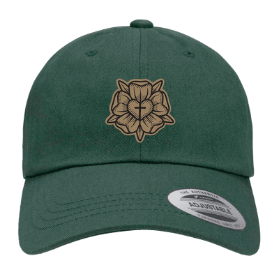 Lutheran Rose Patch Dad Hat