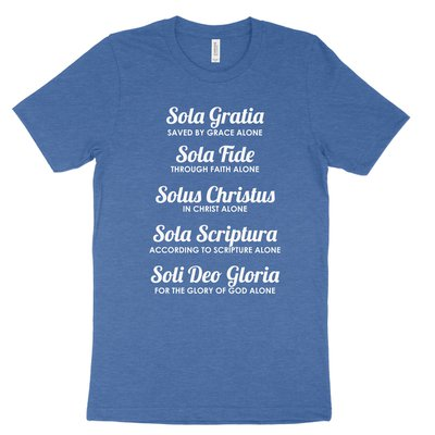 The Five Solas Tee