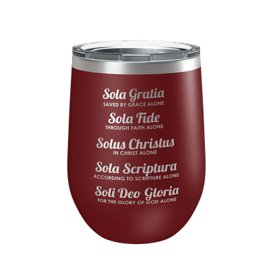 The Five Solas 12oz Insulated Tumbler