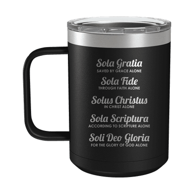 The Five Solas 15oz Insulated Camp Mug