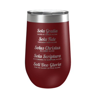 The Five Solas 16oz Insulated Tumbler
