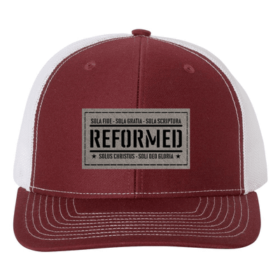 Reformed With The Five Solas Trucker Hat
