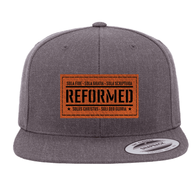 Reformed with the Five Solas Snapback Hat
