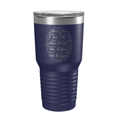 Five Solas Hand Lettered 30oz Insulated Tumbler