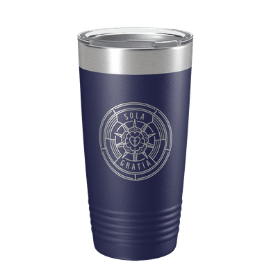 Sola Gratia Badge 20oz Insulated Tumbler