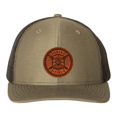 Sola Fide Badge Trucker Hat