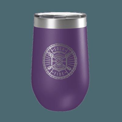Sola Fide Badge 16oz Insulated Tumbler