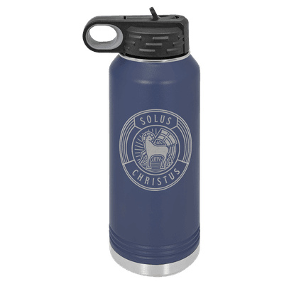 Solus Christus Badge 32oz Insulated Water Bottle