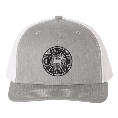 Solus Christus Badge Trucker Hat
