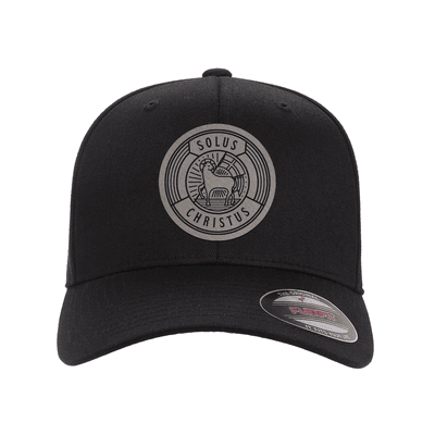 Solus Christus Badge Fitted Hat