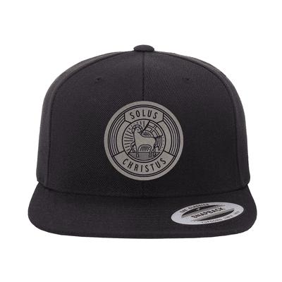 Solus Christus Badge Snapback Hat